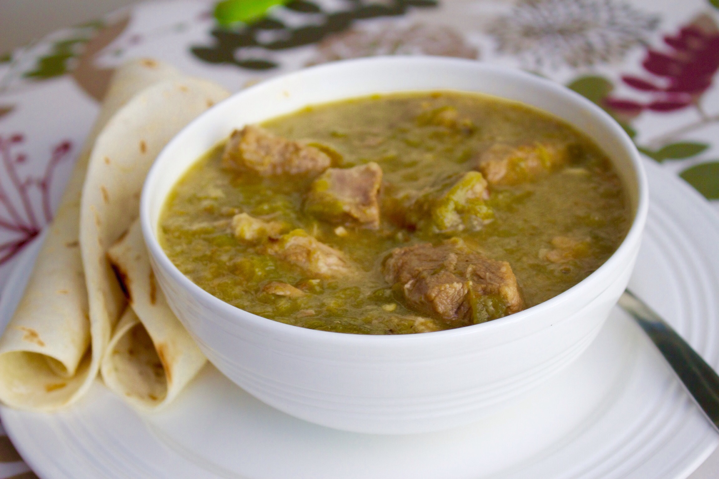 Nanas new mexican green chile stew with pork robs food blog nanas new mexican green chile stew with pork forumfinder Gallery